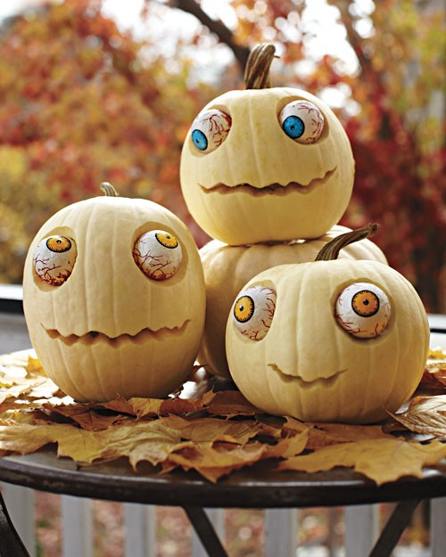 Spooky eyes pumpkins