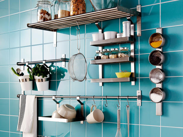 Kitchen Wall Rack