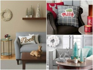 Accent pillows and coffee table accessories