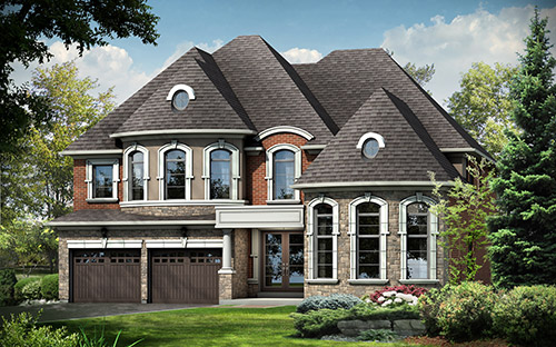 The Vales of Glenway Project in Newmarket. An environmentally friendly community and a participant in the Savings by Design initiative.