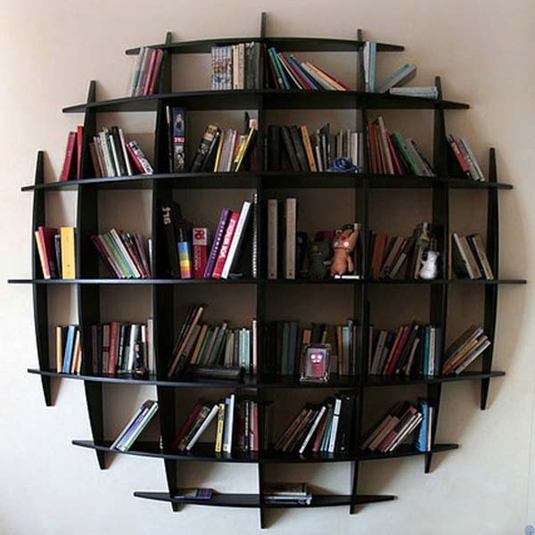 ideas to shake up the bookshelves