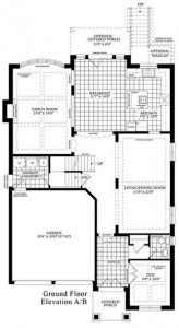 Amberly Ground Floor Plan