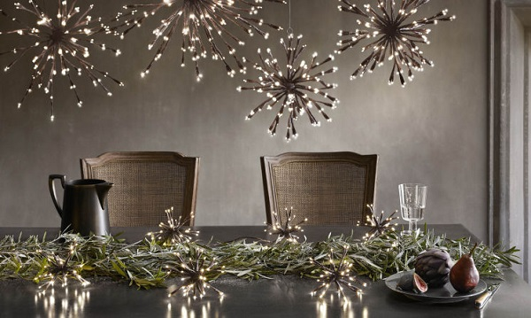 Modern Holiday Decor Table Setting