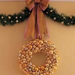 DIY Ball Wreath