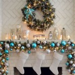 mantel-decoration-for-christmas