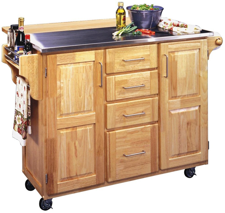 Kitchen organization tips from the experts - Mobile kitchen island plans ...