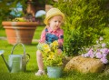 29284326 - little girl helping in the garden