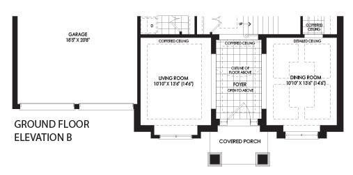 Crown Communities Floor Plans: Kleinburg Crown