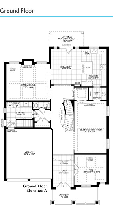 Mosaik homes vales of humber the kendall for Kendall homes floor plans